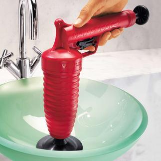 Nettoyeur de tuyauterie Pango livré avec 4 embouts Un jeu d'enfant, écologique et sans produit chimique.