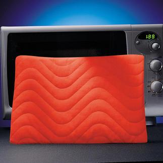 Coussin chauffant haute technologie Placez le coussin pendant 2 à 3 minutes au micro-ondes.