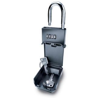 Le coffre-fort pour clefs Solide. Résiste aux intempéries. Vous pourrez le fixer presque partout et l'utiliser comme cadenas.