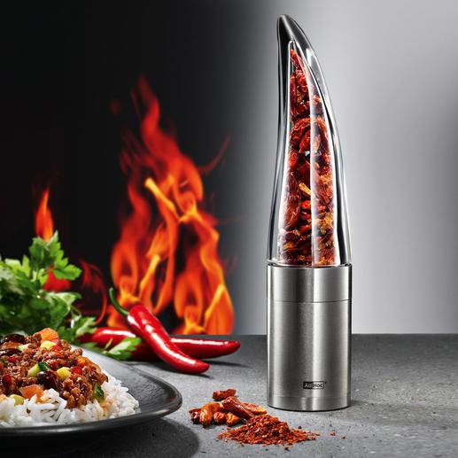 Moulin à piment Pepe Pimentez vos plats – facilement, rapidement et en toute sécurité.