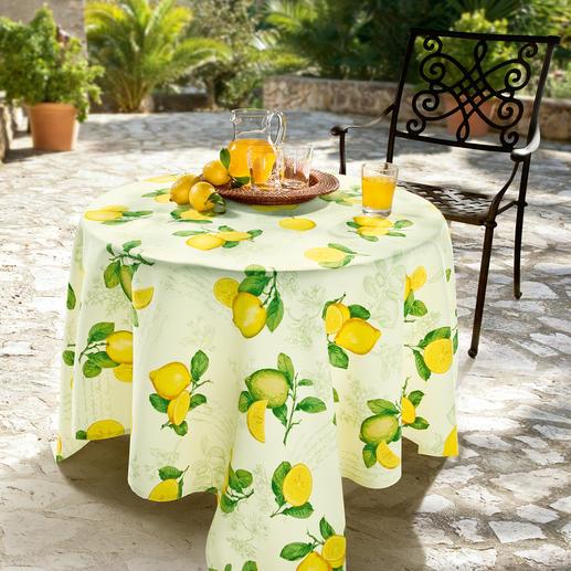 Linge de table provençal En tissage Panama traité antitaches, couleurs durables, entretien aisé. Pour l'intérieur & l'extérieur.