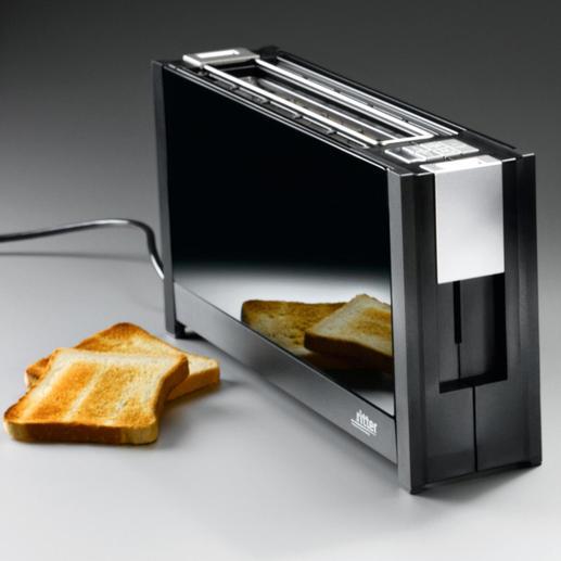 Grille-pain design à fente large Svelte, chic, élégant.