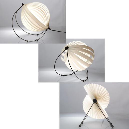 Grâce aux 4 pieds amovibles en plastique sur les arceaux métalliques noirs, vous pouvez déterminer l'inclinaison de la lampe et l'angle d'incidence de la lumière.