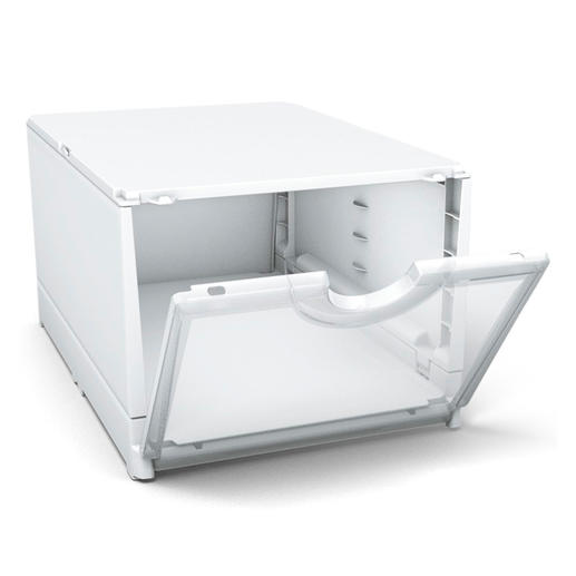 Ces boîtes polyvalentes et solides sont également idéales comme boîtes de transport et pour ranger les vieux papiers.