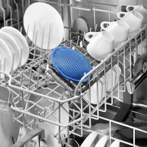 Coussinet bioactif pour lave-vaisselle Préserve votre vaisselle, votre lave-vaisselle et la planète. Et permet de faire des économies.