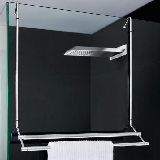 Ablage F?r Dusche Zum Einh?ngen : Accroch? ? votre douche, le porte-serviettes vous permettra d