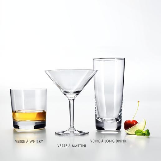 Ligne bar Charles Schumann Formes classiques. Verres en cristal Tritan® fin. Pour le plaisir de vos papilles.