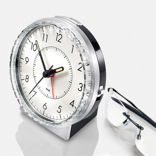 Réveil analogique « son de cloche » Le bon vieux réveil analogique avec son de cloche – maintenant, encore amélioré.