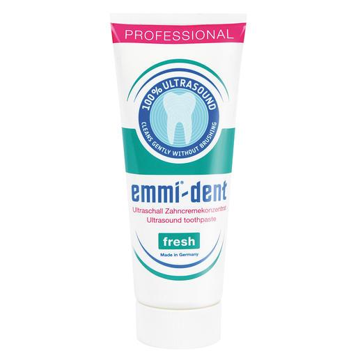 """Dentifrice pour brosse à ultrasons, 75 ml Dentifrice pour brosse à ultrasons. Aucune substance """"abrasive"""" ne nuit à vos dents ou à vos gencives."""
