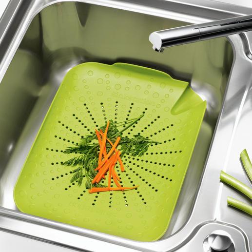 Passoire d'évier BRIX Récupérez tout le contenu de votre évier – en un seul geste.