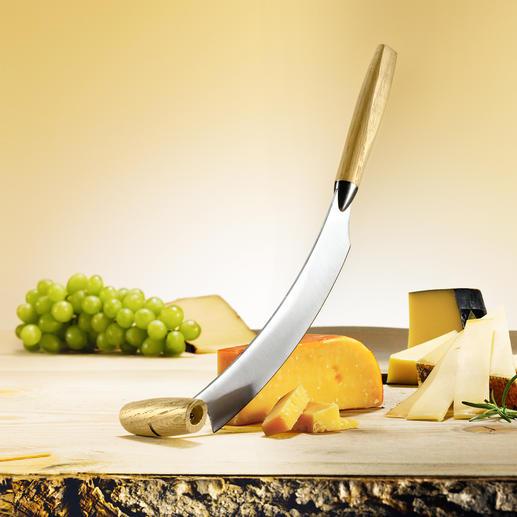 Couteau à fromage hollandais original Le couteau à fromage Boska : un simple mouvement de balancier au lieu d'un tranchage fastidieux.