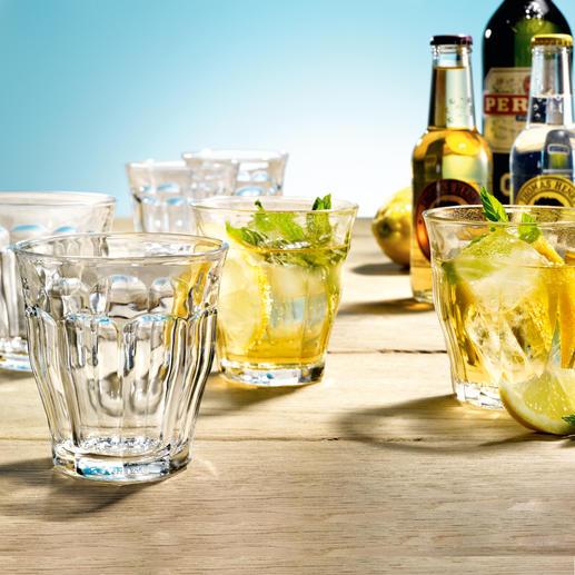 Verres Picardie, lot de 6 A la fois classiques et élégants. Vous ne trouverez pas mieux que les verres Picardie, typiquement français.