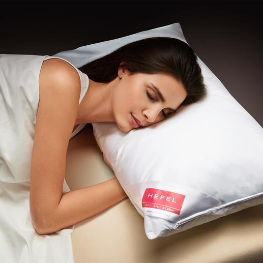 Oreiller Cool de Hefel Un sommeil profond, réparateur lors des nuits chaudes. Éloigne la chaleur de la tête,du visage & de la nuque.