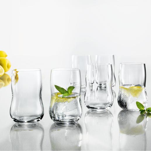Lot de 6 verres Holmegaard Clairement esthétique. Forme pratique. Taille parfaite.