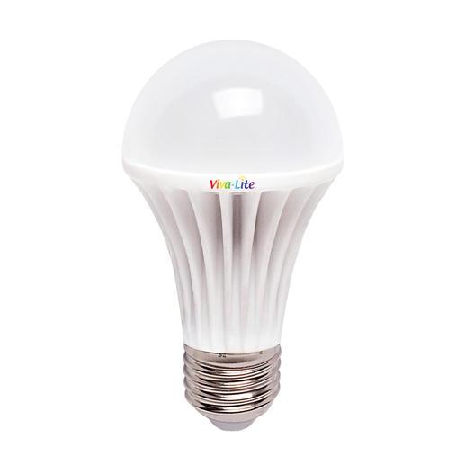 Viva Lite® DEL plein spectre Transforme toutes les lampes à culot E27 en source de lumière du jour. Idéale pour la lecture & le bien être.