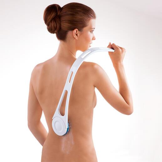 Set de soins du dos Appliquez facilement de la crème sur votre dos – après le bain, le sauna, à la plage...