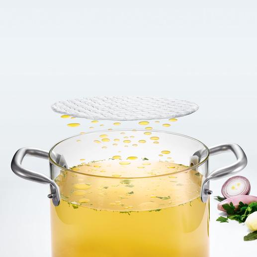 Kit ou Rouleau FatPad Absorbe les excédents de graisse de vos plats en quelques secondes.