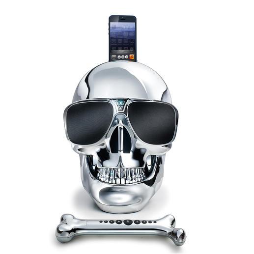 AeroSkull HD+ À la fois haut-parleur haute qualité et objet culte. Conçu sous la direction de la star Jean-Michel Jarre.