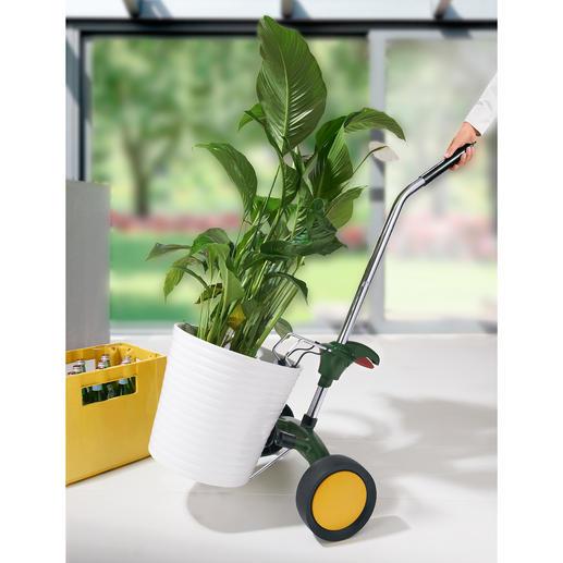 Chariot de transport pour bacs à fleurs Rouler très facilement au lieu de porter péniblement.