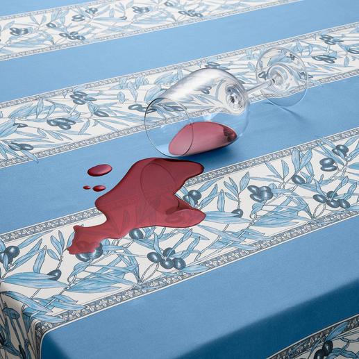 Grâce au revêtement acrylique du côté supérieur, vous essuyez facilement les liquides renversés et les taches.
