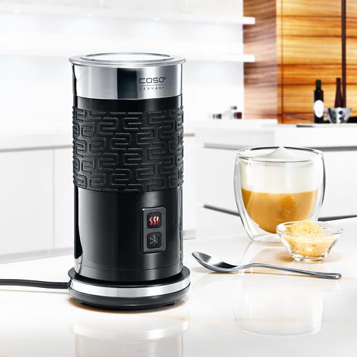 Mousseur de lait Fomini Crema 100 ml de mousse de lait en 80 secondes. Garde son crémeux jusqu'à 15 (!) minutes. Nettoyage facile.