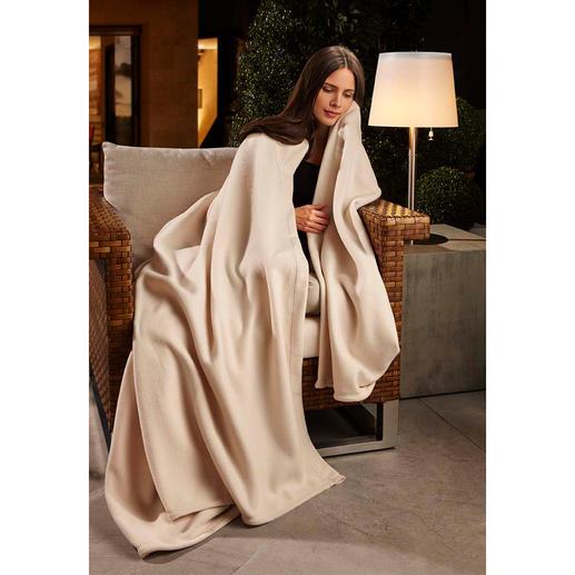 Wonder Blanket® Laine polaire. Douceur extrême et chaleur : un vrai plaisir, en solo ou en duo.