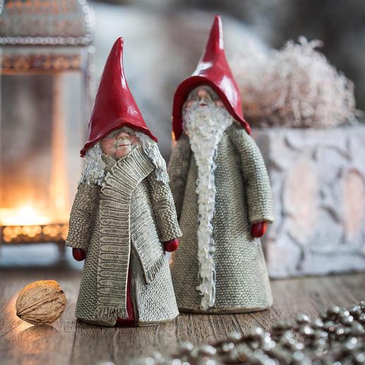 Lutin de Noël suédois décoratif Les bons génies domestiques suédois installent une belle ambiance de Noël.