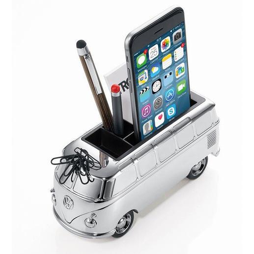Combi VW Organizer Un accessoire de rangement très spécial. Sur le bureau, la table, dans la salle de bain.