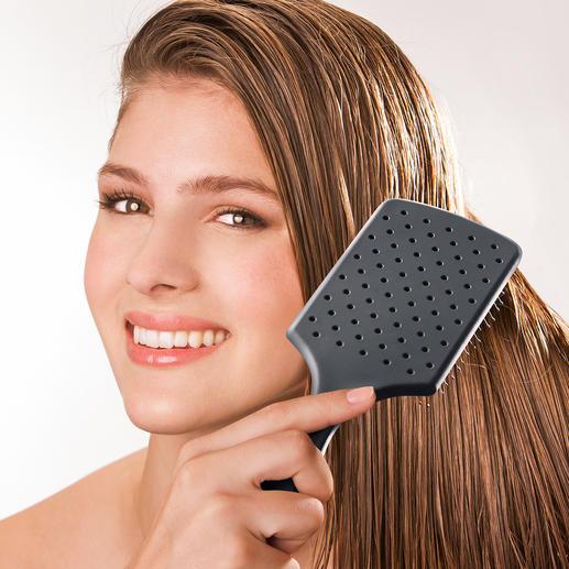Brosse WetBrush® Paddle Brush Démêle les cheveux en douceur & les rend faciles à coiffer. Massage bienfaisant du cuir chevelu.