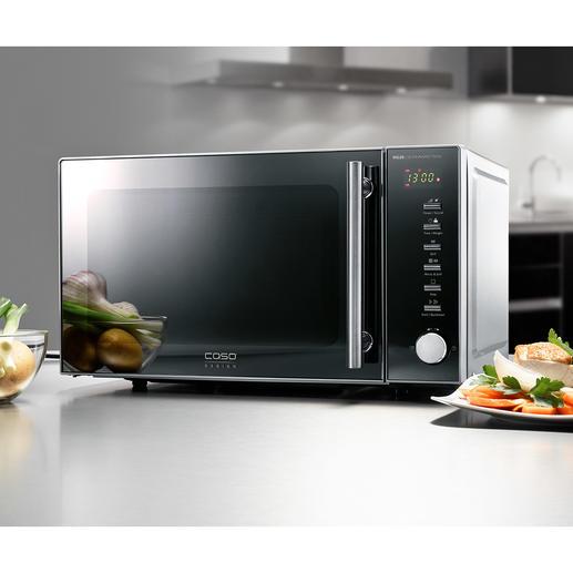 Micro-ondes 2 en 1 MG20C Technologie empruntée aux appareils professionnels de la gastronomie et design convivial.