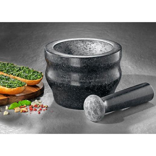 Mortier en granit Cole & Mason Broyer des épices rapidement tout en préservant leur arôme, avec le mortier professionnel en granit massif.