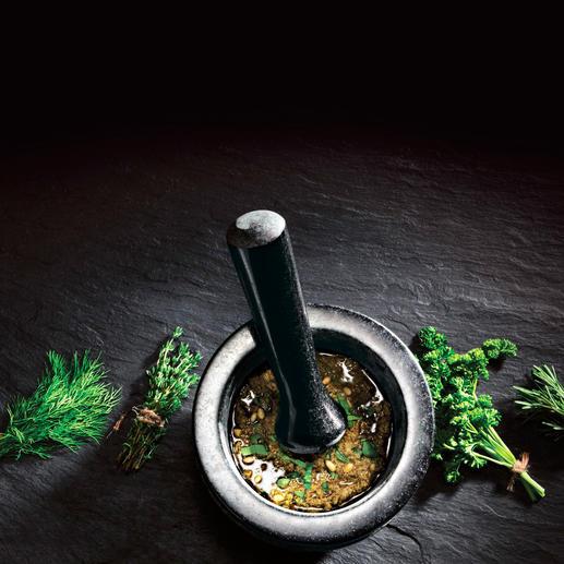 Mélanges d'épices, pesto, marinades, ... toutes vos préparations réussissent plus rapidement et plus facilement.