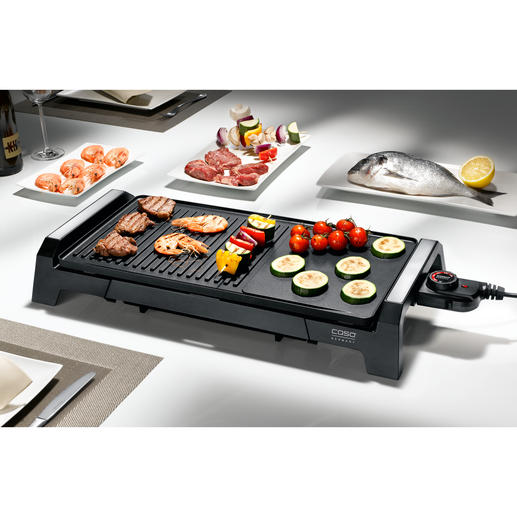 Grill de table Caso BQ 2200 Tout ce que vous attendez d'un grill de table à un très bon prix.