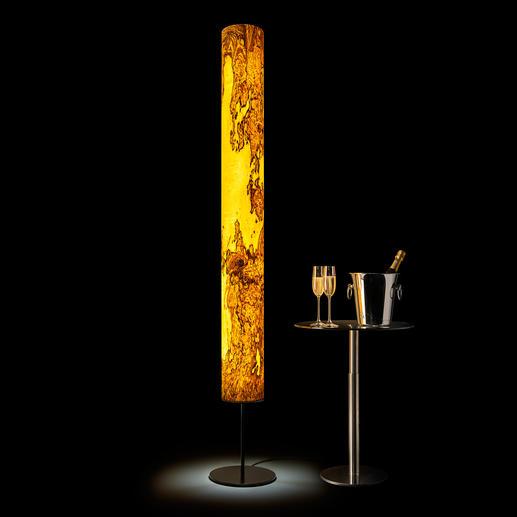 Lampe design en bois véritable