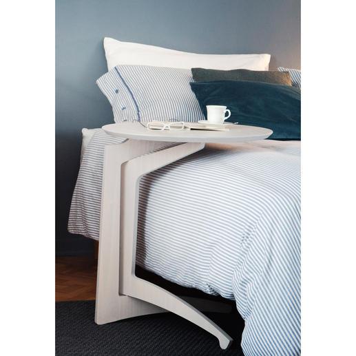 Desserte « Paolo » Desserte, tablette, plateau de lit. Table pliante en bois de bouleau de qualité. Stable, mobile, polyvalente.