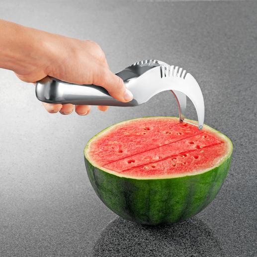 Trancheur de melon Jamais servir du melon n'aura été aussi simple.