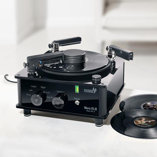 Nettoyeur de disques vinyle Mera ELB Eco 24 V - Nettoie les disques vinyle neufs et anciens, en profondeur mais tout en douceur. Pour un son optimal.