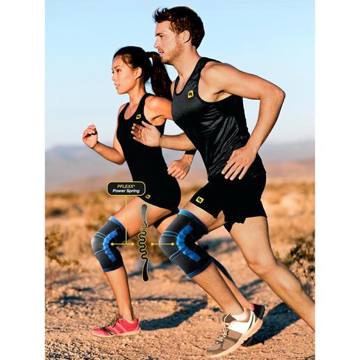 Bandages de musculation du genou PFLEXX® Le bandage de musculation du genou révolutionnaire PFLEXX®- pour le sport et au quotidien.