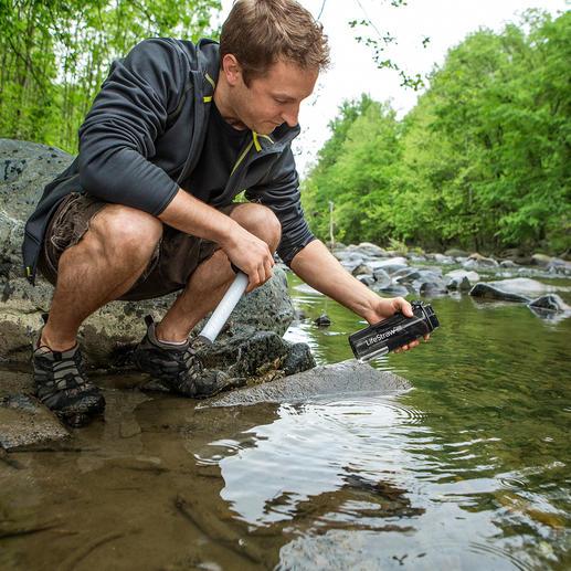 Gourde avec filtre à eau LifeStraw® Go De l'eau propre en quelques secondes. Se range dans le plus petit sac à dos.
