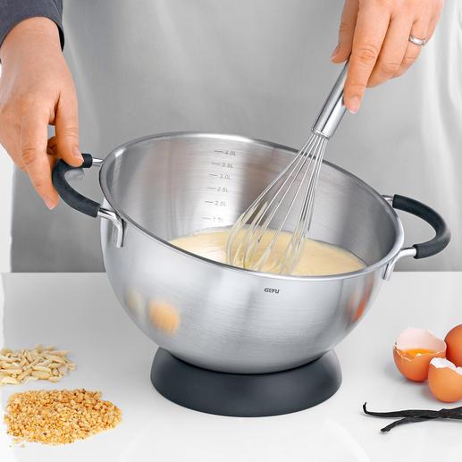 Bol mélangeur cul-de-poule Gefu Un objet quotidien, pour mélanger, battre, incorporer, faire fondre ...