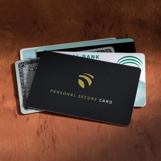 Carte RFID Secure-Card Personne ne peut espionner vos données sensibles, même à une distance de 3 cm.