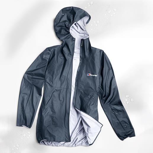 Veste tous temps poids plume Berghaus Berghaus Hyper 100 : la première veste outdoor triple couches qui pèse moins de 100 grammes.