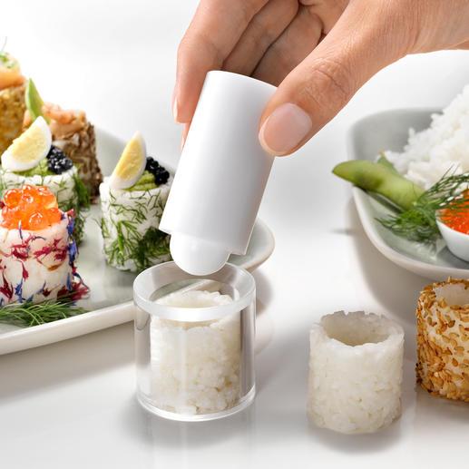 Moule easy-fingerfood Finies les délicates manœuvres pour enrouler, empiler, trancher.