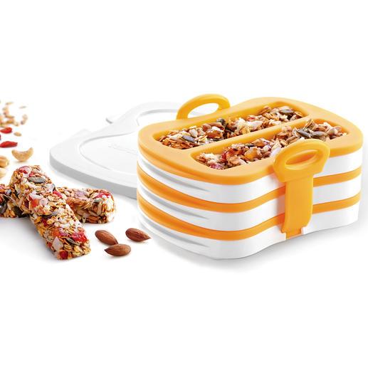 Moule pour barres de céréales maison Avec ces moules en silicone, vos barres de céréales fait maison réussissent à tous les coups !