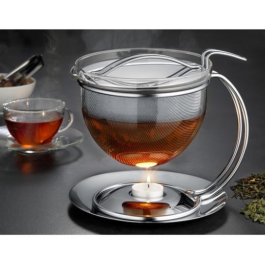 Théière « Filio » 1,5 litres avec réchaud Depuis presque 30 ans, cette théière compte parmi les classiques pour préparer un thé de manière stylée.
