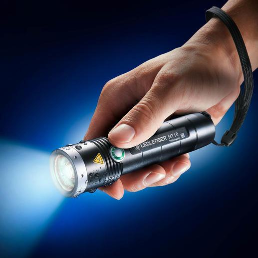 Lampe Ledlenser MT10 Outdoor La lampe de poche rechargeable à vie.
