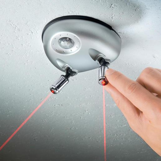 Assistance au stationnement laser Duo Facilitez le stationnement dans votre garage. Au centimètre près. Même pour 2 véhicules simultanément.