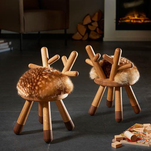 Bambi Chair Un meuble charmant : chaise enfant, sculpture, sellette ...