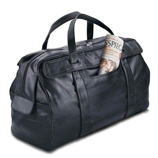 Sac de voyage Oconi Noble et souple comme du cuir. Mais bien plus facile d'entretien et à prix bien plus avantageux.