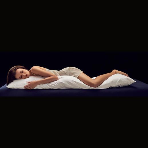 Coussin pour dormeurs sur le côté avec pin cembro Dormez en symbiose avec dame nature, détendu, agréablement soutenu et rafraîchit.
